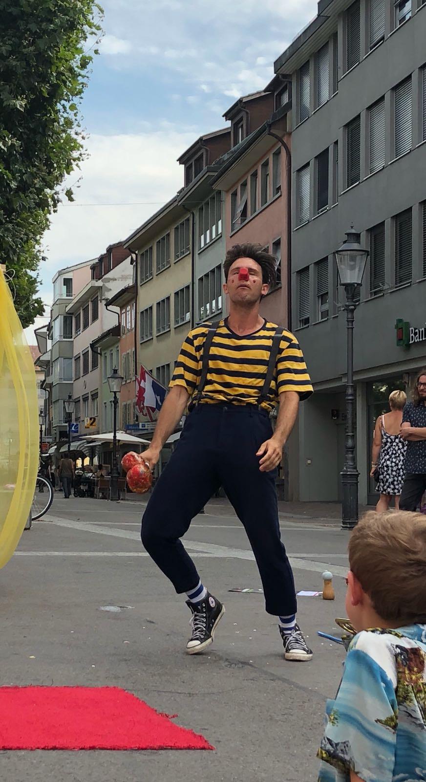 Straßen Performance Italien